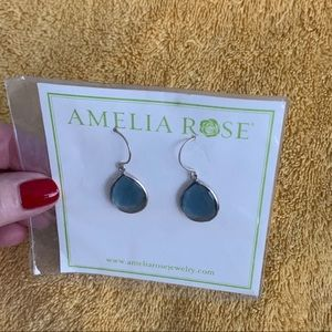 🆕 Amelia Rose Cabo Gem Teardrop Earrings